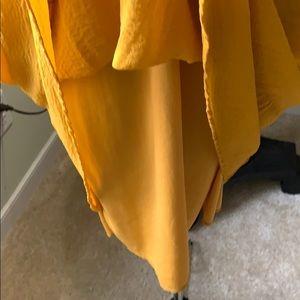 Tacera Dresses - Tacera Mustard Sleeveless Dress Size 2X